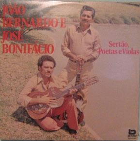 joão bernardo & josé bonifácio - sertão,poetas e violas-1983