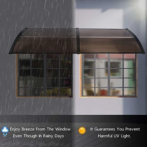 joo life   toldo de policarbonato para puerta y ventana prot