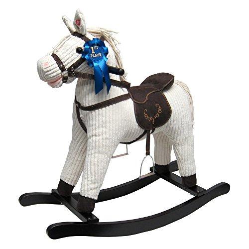 joon caballo mecedora corduroy jones pony, beige