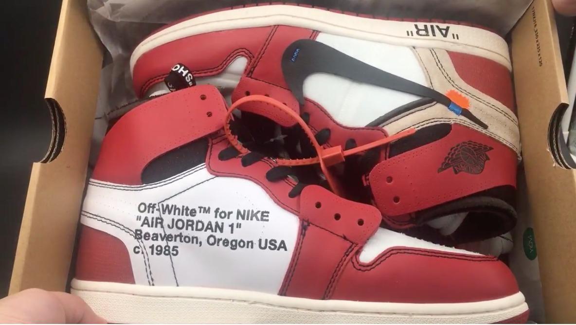 size 40 a8d56 65994 Jordan 1 Off-white Chicago Ua