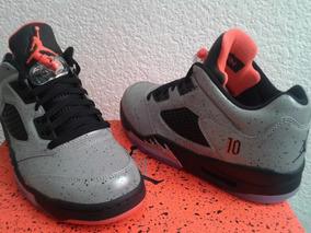 best sneakers 5def4 85384 Zapatos Jordan 4 Retro - Zapatos Nike Plateado en Mercado ...