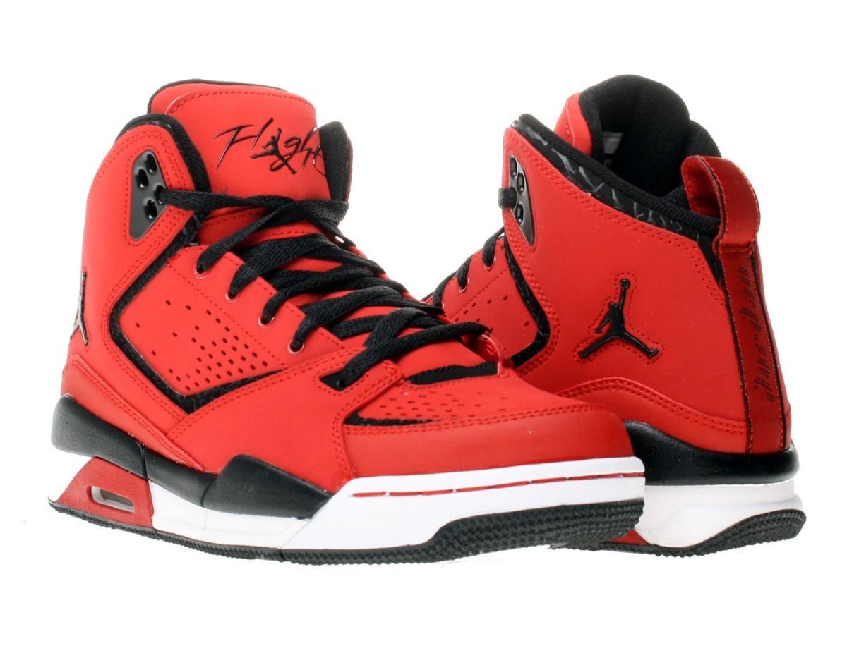 sports shoes 3c1f4 8dd6f jordan nike sc-2 varsity red   black única talla 29.5 mx. Cargando zoom.