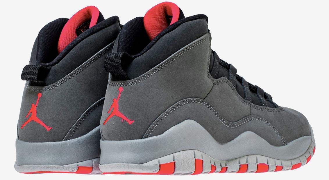 buy popular 00b74 21a75 Jordan Retro 10 Air Dark Smoke Gray Hombre Basketball Origin