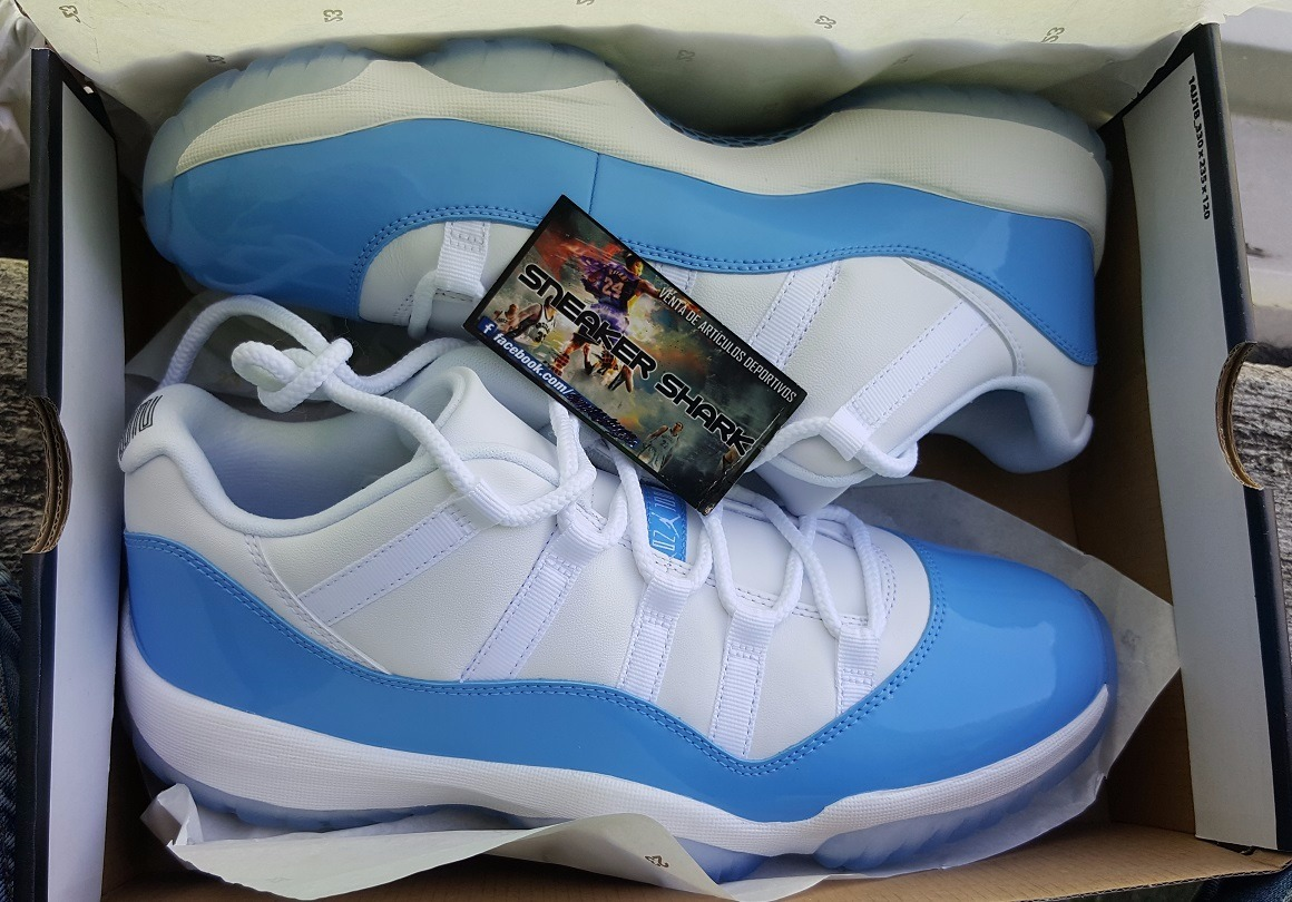 low priced 51025 53979 Jordan Retro 11 Xi Low Carolina Envio Inmediato Gratis