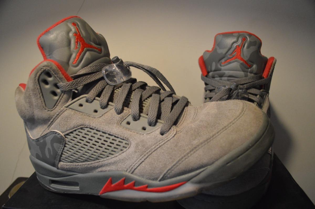 Jordan Retro 5 P51 Camo Muy Poco Uso!!! $ 5.500,00