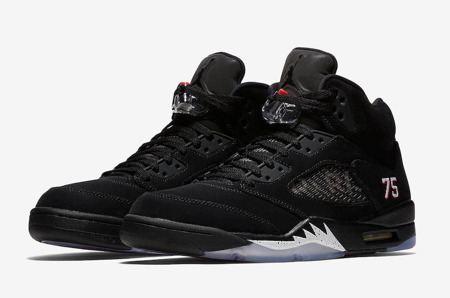 f7ed0ae243b jordan retro 5 psg limited edition paris saint sneakers. Cargando zoom.