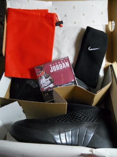 jordan xv black en caja (numero 8.5 mex) astroboyshop