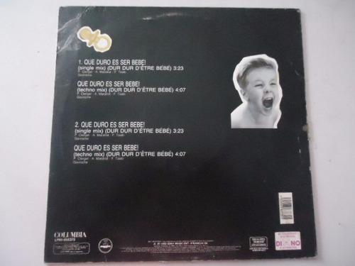 jordy / dur dur detre bebe vinyl lp acetato