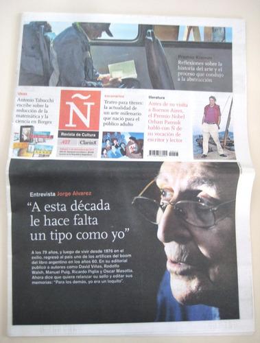 jorge alvarez - revista ñ clarin editorial mandioca