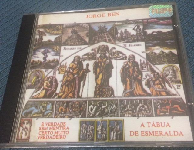 cd jorge ben a tabua de esmeralda