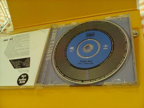 jorge ben - ben é samba bom -  cd