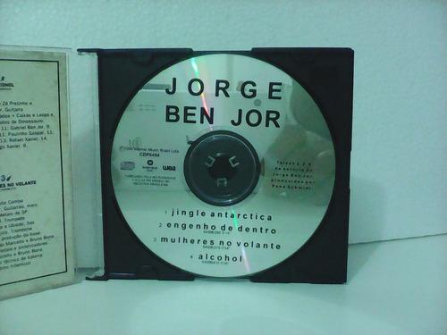 jorge ben jor - single promocional - cd excelente estado