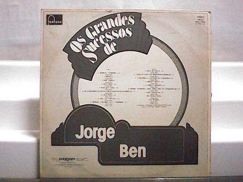 jorge ben - os grandes sucessos - lp fontana 1981