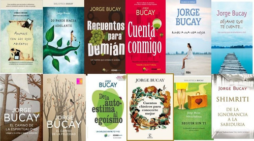 jorge bucay  21 libros + 4 audios@@@