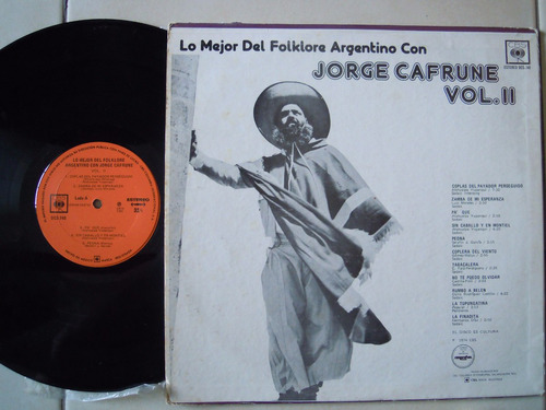 jorge cafrune lp vol. 2 lo mejor del folklore argentino