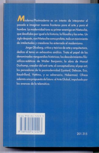 jorge glusberg moderno posmoderno emece editores 1993 olivos