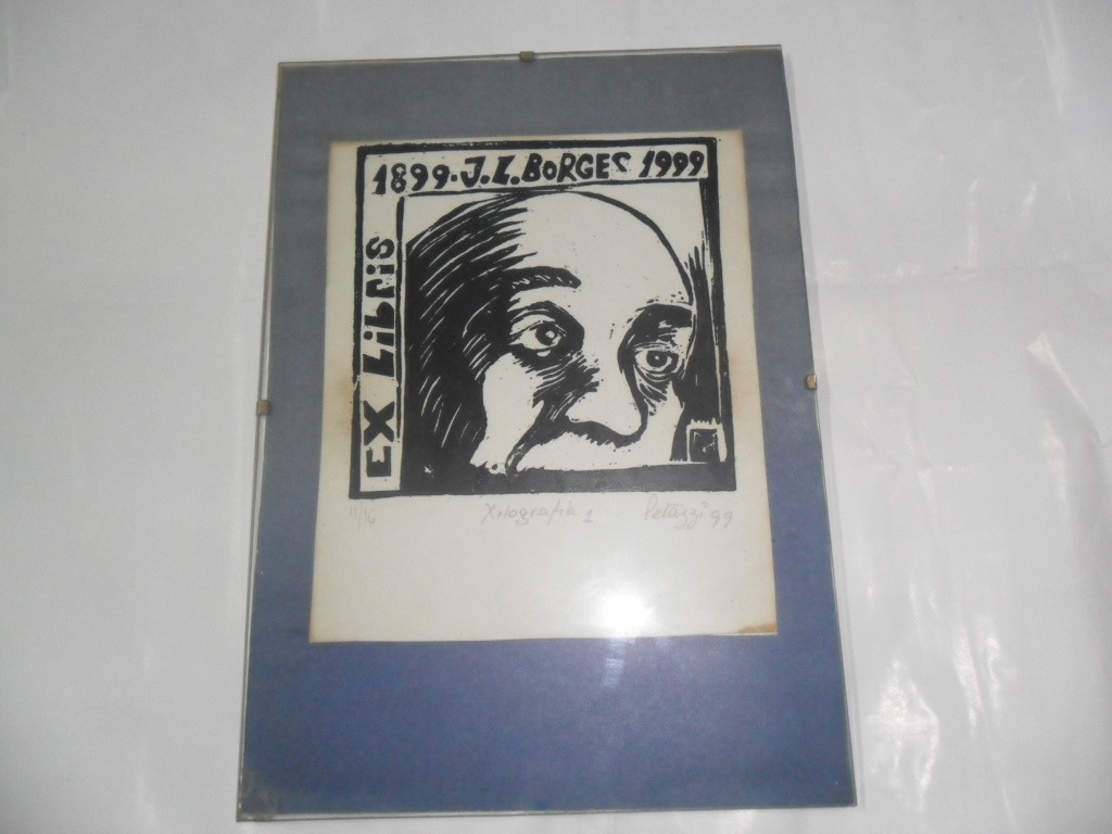 Jorge Luis Borges Xilografia 11/16 Petazzi 1999 Obra Marco - $ 999 ...