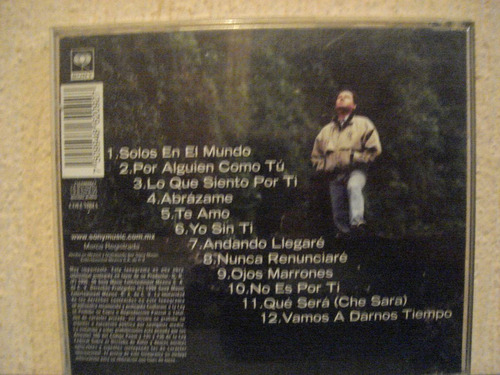 jorge muñiz andando llegare  cd  edc. 96