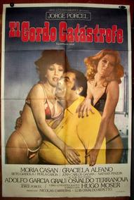 Jorge Porcel Moria Casan Alfano Afiche Cine Orig 1977 N835