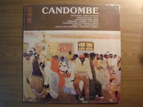 jorge trasante - dogliotti dino rada candombe vinilo lp
