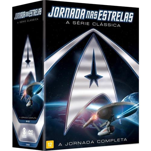 jornada nas estrelas - a serie classica (box) a jornada comp