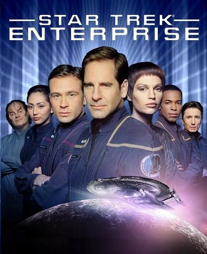 jornada nas estrelas enterprise 1ª à 4ª temp 27 dvds