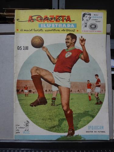 jornal a gazeta esportiva ilustrada nº 50 1955 ipojucan