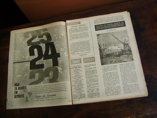 jornal antigo singra suplemento intergrafico - 1960 - n 434