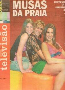 jornal da televisão 2001 didi wagner tathiana mancini sarah