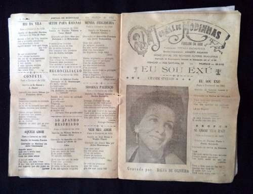 jornal de modinha ilustrado n° 442 ano vlll cantor