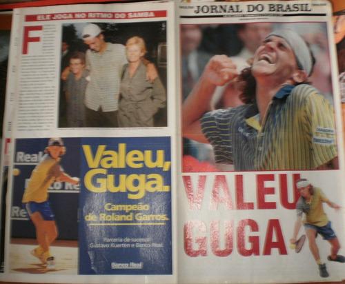 jornal do brasil 09-jun-1997 valeu guga roland garros
