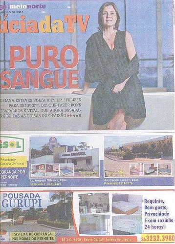 jornal noticia: adriana esteves / josie pessoa / brenno leon