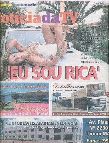 jornal noticia : joana machado / michelle martins / ingrid g