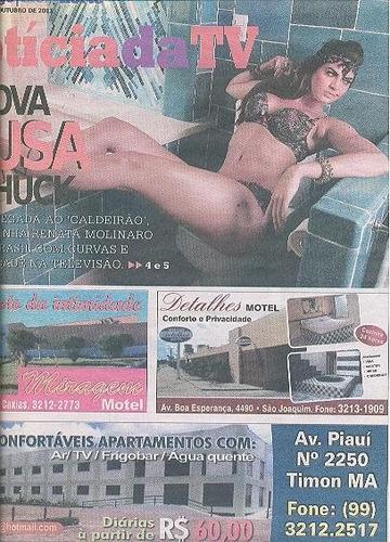 jornal noticia:  renata molinaro / claudia leitte / dado dol