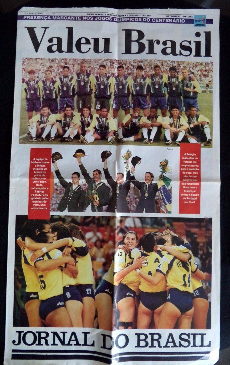 a8bc1b0e4 jornal o globo esporte brasil campeão agosto 1996. Carregando zoom.