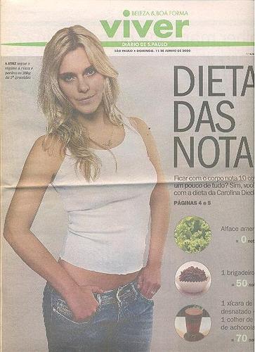 jornal viver: carolina dieckmann, taís araújo, eliana olivei
