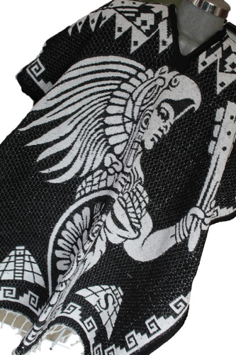 jorongo gabán artesanal mexicano modelo guerrero