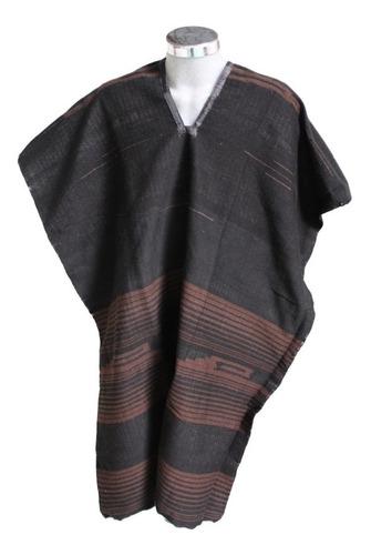 jorongo gabán artesanal tonos cafés (especial)