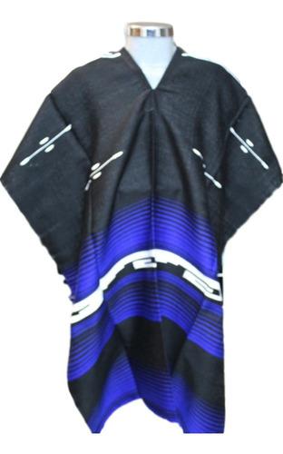 jorongo gabán mexicano artesanal grecas unicolor