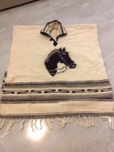 jorongo gaban sarape 100% de lana para charro artesanal