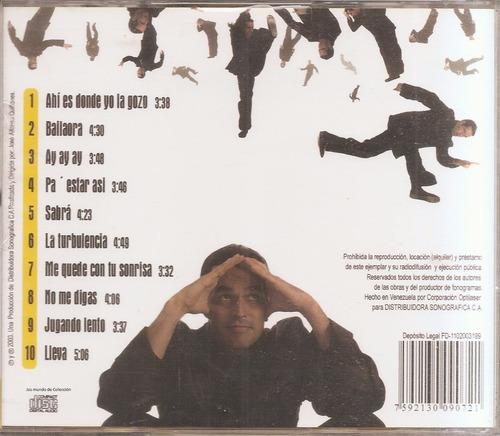 jose alfonzo quiñones  - cd original - un tesoro músical