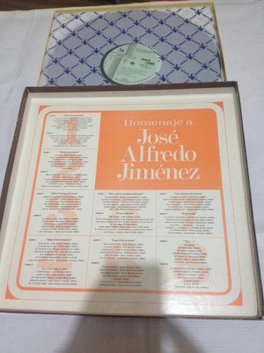 jose alfredo jimenez  album 8 discos hecho en mexico