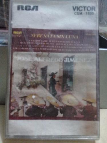 jose alfredo jimenez - serenata sin luna (casete original)
