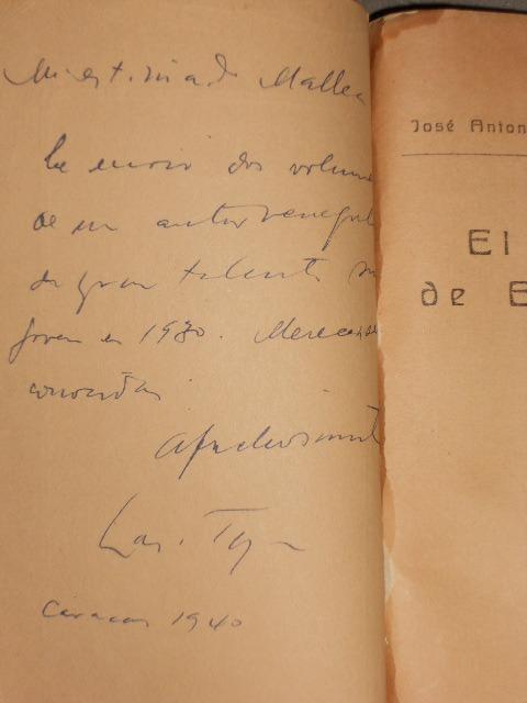 José Antonio Ramos Sucre el Cielo De Esmalte 1929 1a // - $ 36 000,00