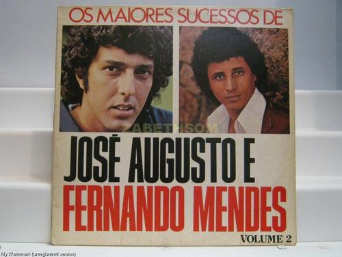 jose augusto e fernando mendes - vol. 2 lp emi odeon 1974
