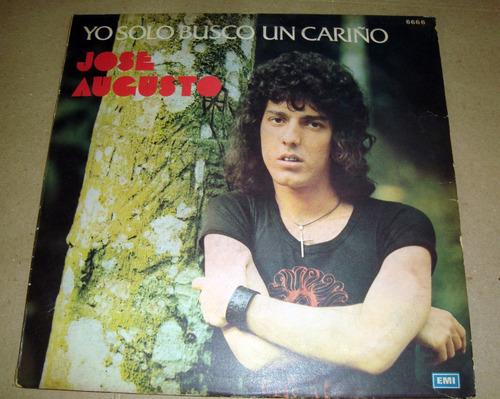 jose augusto yo solo busco un cariño lp argentino