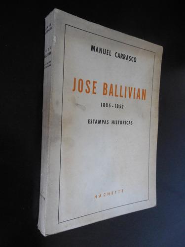 jose ballivian 1805 1852 manuel carrasco