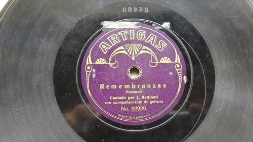 jose  betinotti sello ártigas disco  original