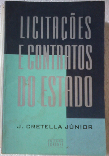 jose cretella junior licitaçoes e contratos do estado 1996