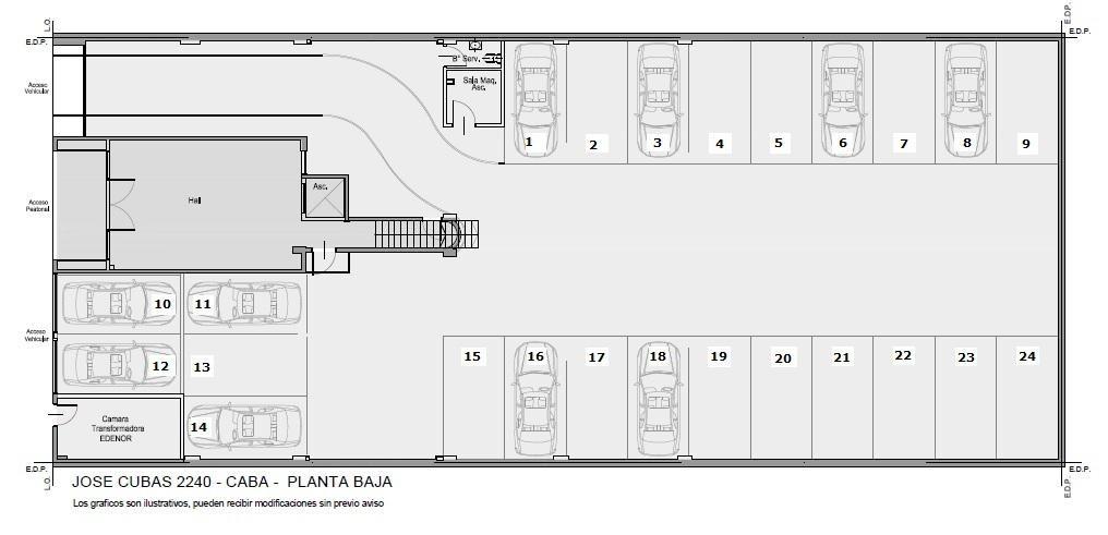 jose cubas 2240 - villa pueyrredon - cocheras fijas, cubiertas y descubiertas! gran inversión!